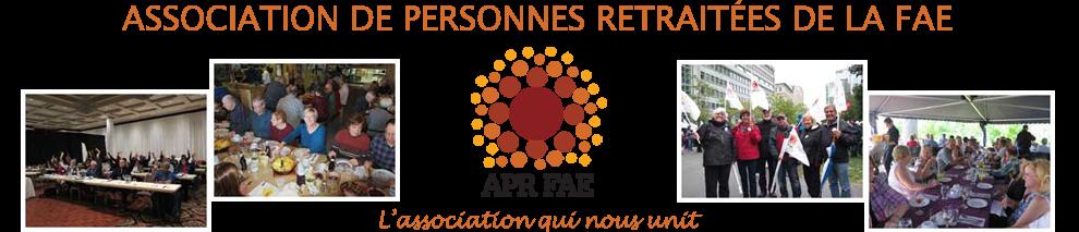 Association de personnes retraitées de la FAE